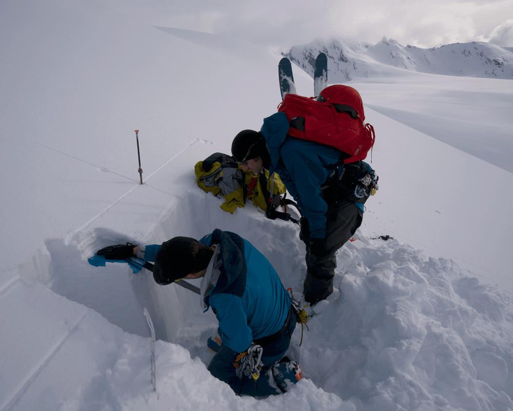 Prival-Alaska-AIARE-Level-2-Snow-Profile-Test-compressor